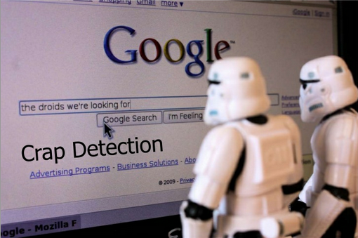 "Stormtroopers Googling ""The droids we're looking for"""